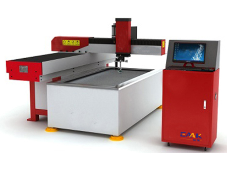 CNC waterjet cutter machine