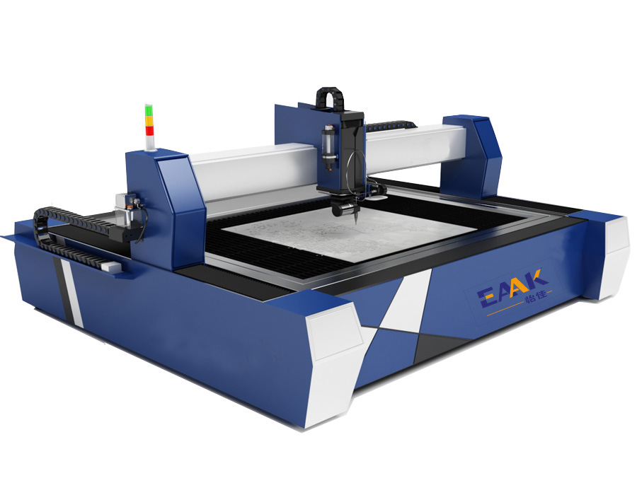 Buy water jet cutting machine from China or local?